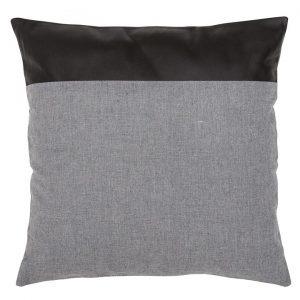 1/4 Leather Square Cushion