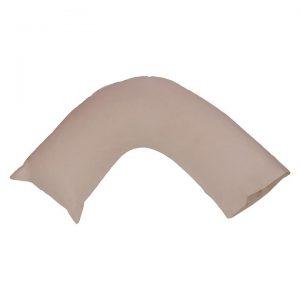 250TC Cotton V-Shape Pillow Case
