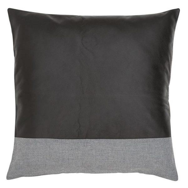 3/4 Leather Square Cushion