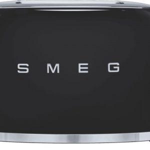 50's Retro Style 2 Slice Toaster - Black