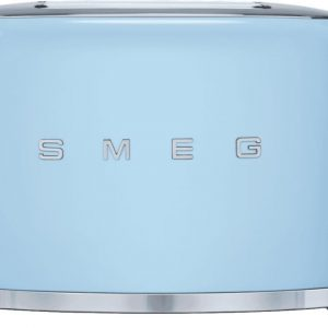 50s Retro Style 2 Slice Toaster - Blue