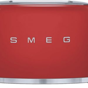 50s Retro Style 2 Slice Toaster - Red