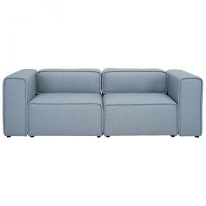 Acura Fabric Sofa, 2 Seater, Aquamarine