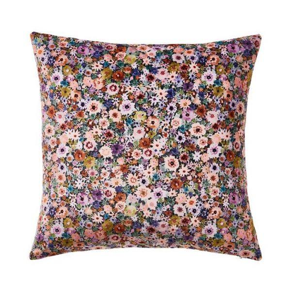 Adairs Carrie Floral Cushion Multi 50x50cm