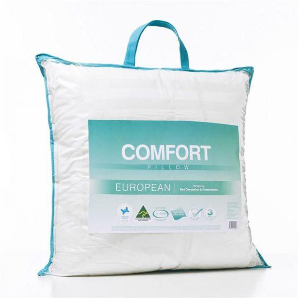 Adairs Comfort Comfort European Pillow - White