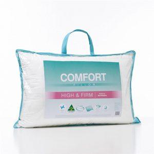 Adairs Comfort Comfort High Firm Pillow - White