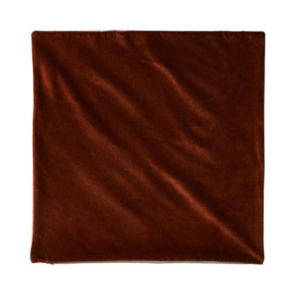 Adairs *Cover Only* Bombay Velvet Cushion Cover 50x50cm Amber