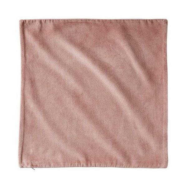 Adairs *Cover Only* Bombay Velvet Cushion Cover 50x50cm Misty Pink - Mistypink