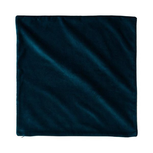Adairs *Cover Only* Bombay Velvet Cushion Cover 50x50cm Peacock