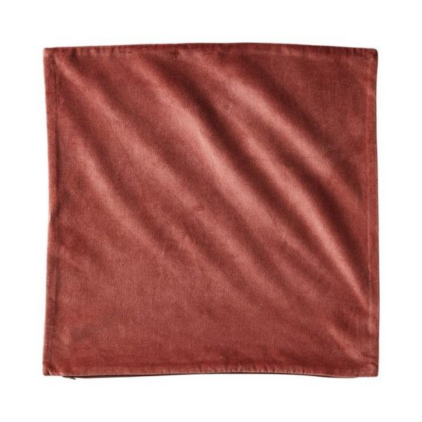 Adairs *Cover Only* Bombay Velvet Cushion Cover 50x50cm Rose