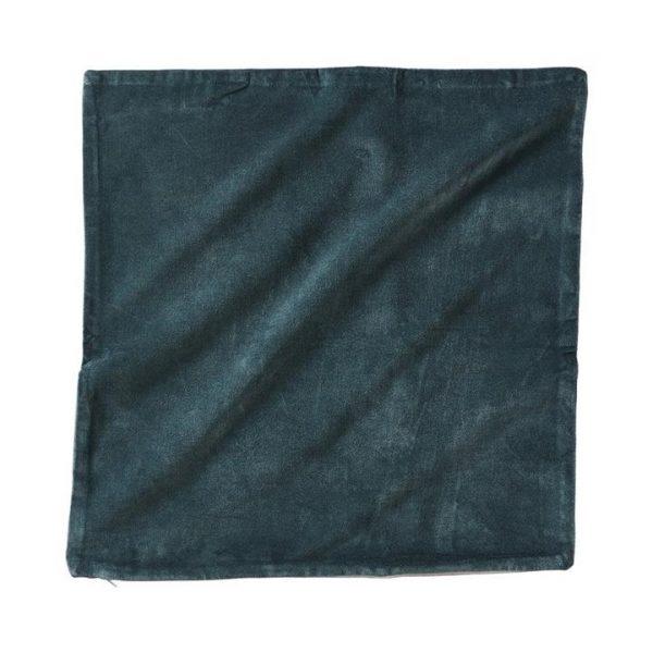 Adairs *Cover Only* Bombay Velvet Cushion Cover Granite Green