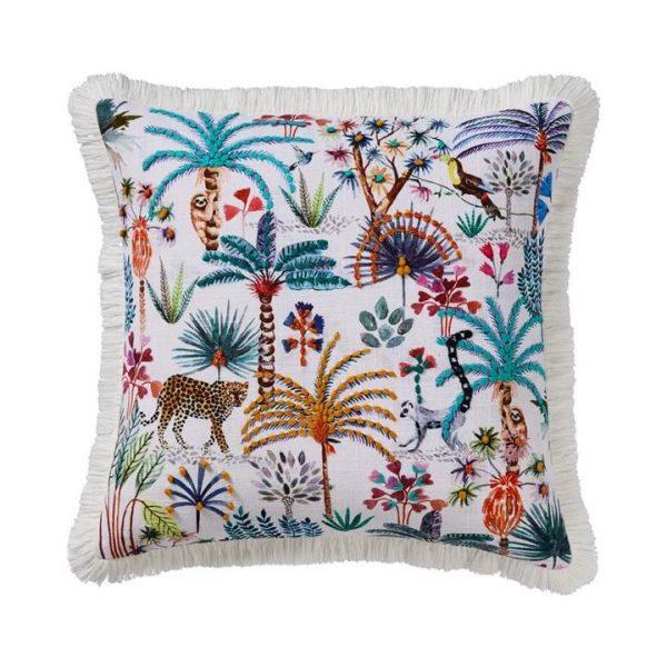 Adairs Hanging Garden Cushion 50x50cm Multi