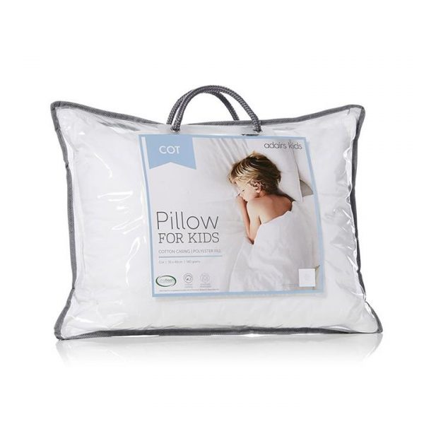 Adairs Kids Pillow Collection Cot - White