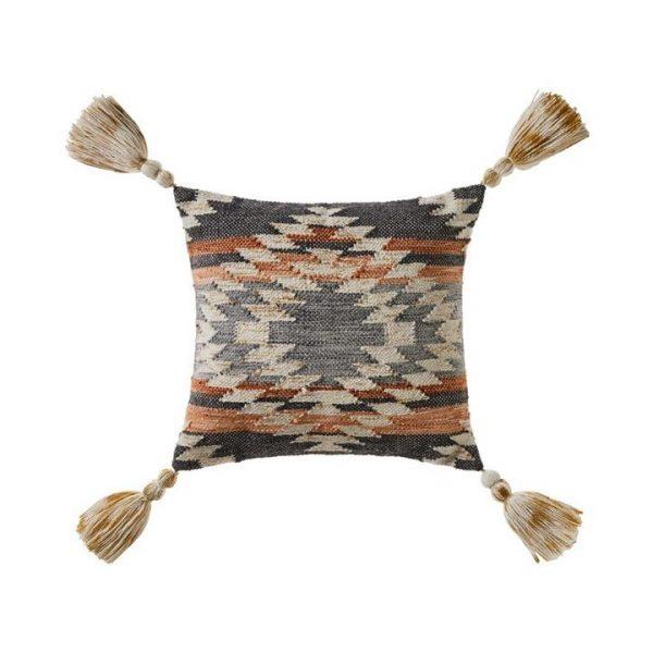 Adairs Skagen Cushion Grey/Rust