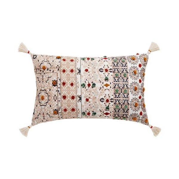 Adairs Taza Cushion Earth 35x55cm