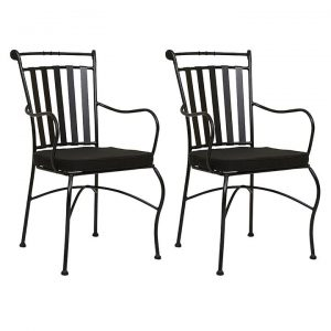 Adele Outdoor Dining Chair (Set of 2)