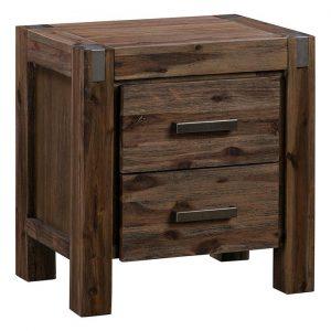 Adriel Wooden Bedside Table