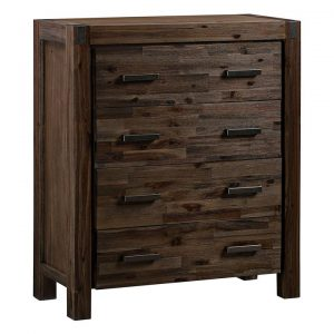 Adriel Wooden Chest of 4 Drawers