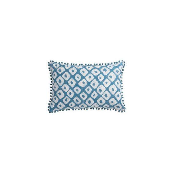 Akita Breakfast Cushion, Bluegum