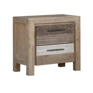 Albergo Acacia Timber Bedside Table
