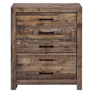 Albus Timber Chest of 5 Drawers