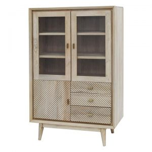 Allura Timber Display Cabinet