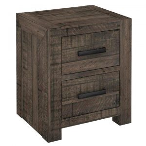 Alysha Recycled Pine Timber Bedside Table