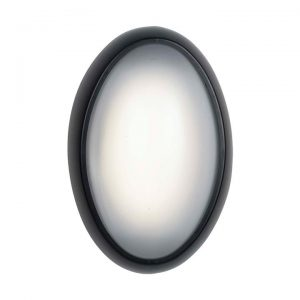 Andra IP65 Indoor / Outdoor LED Bunker Light, Black