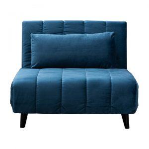 Andreasen Velvet Fabric Sofa Bed