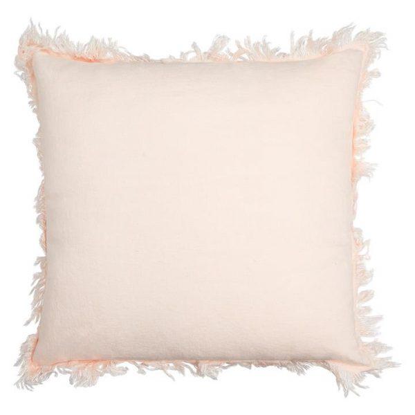 Anya Linen Fringe Cushion