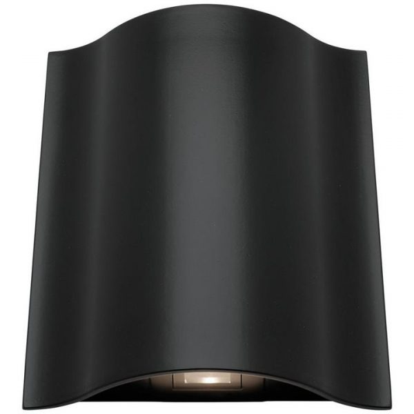 Arch IP54 LED Indoout/Outdoor Up/Down Wall Light, Black