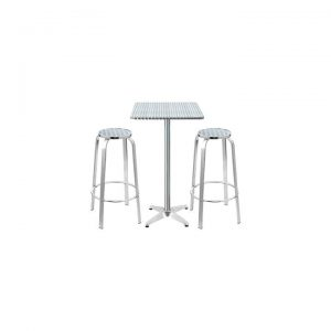 Arendt 3-Piece Bar Stools and Table Set