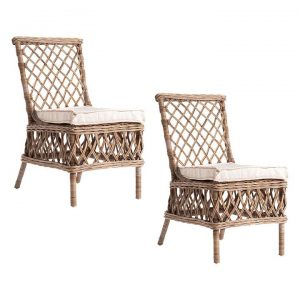 Aristocrat Rattan Dining Chair (Set of 2)