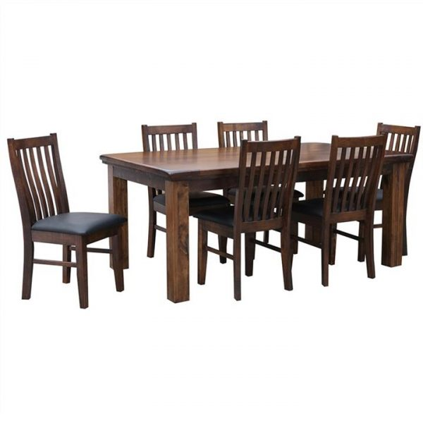 Artemis Pine Timber Dining Table (Table Only), 180cm