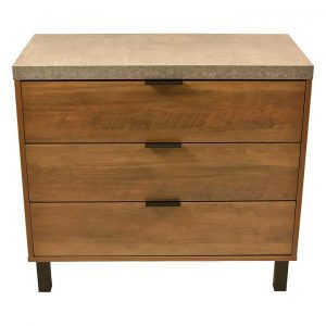 Atlanta Chest of 3 Drawers, Oak