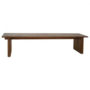 Avila Mountain Ash Timber Dining Bench, 200cm