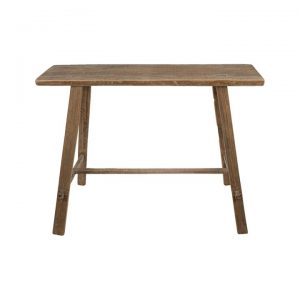 Bella Recycled Timber Console Table, 100cm, Natural
