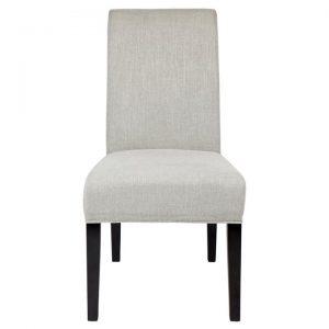Bentley Fabric Dining Chair, Grey