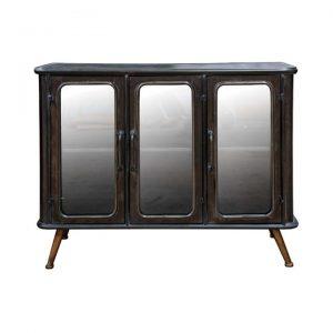 Bentley Metal 3 Door Sideboard, 100cm