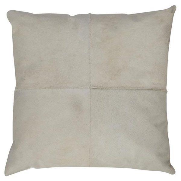 Block Cowhide Breakfast Cushion