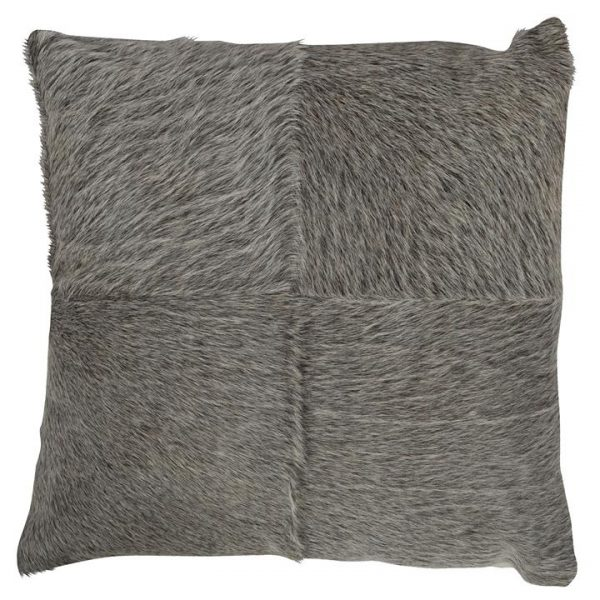 Block Cowhide Scatter Cushion