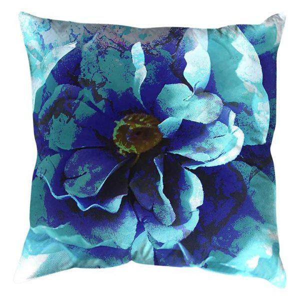 Blue Flower Cushion