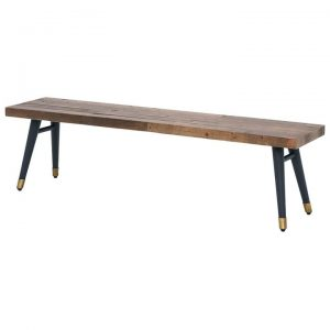 Bohemian Reclaimed Timber Dining Bench, 180cm