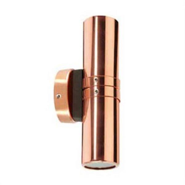 Bondi Copper IP54 Outdoor LED Wall Light, 12V