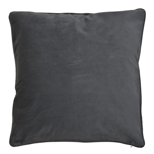 Bondi Velvet Euro Cushion Cover, Grey
