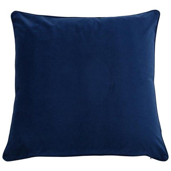 Bondi Velvet Euro Cushion Cover, Navy