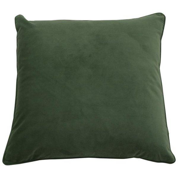 Bondi Velvet Euro Cushion Cover, Olive