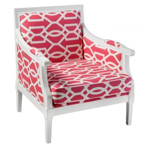 Bonnie Fabric & Timber Armchair
