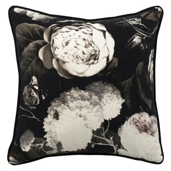 Bouquet Velvet Cushion