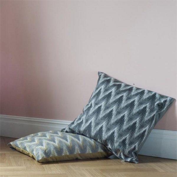 Brandy Tapestry Floor Cushion, Ochre